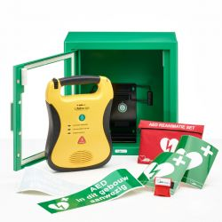 Defibtech Lifeline AED + binnenkast + beugel
