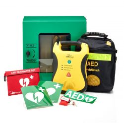 Defibtech Lifeline AED + buitenkast