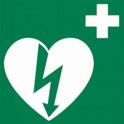 AED sticker 20x20
