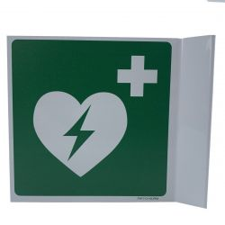 AED bord haaks 15x15