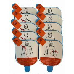 Defibtech View Vervangingsplakkers trainingselektroden (5 paar)