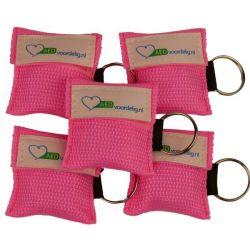 Kiss of life key roze 5 stuks