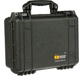Peli 1450 AED koffer zwart met Plukfoam