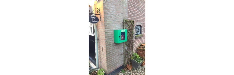 Dichtstbijzijnde AED niet te vinden